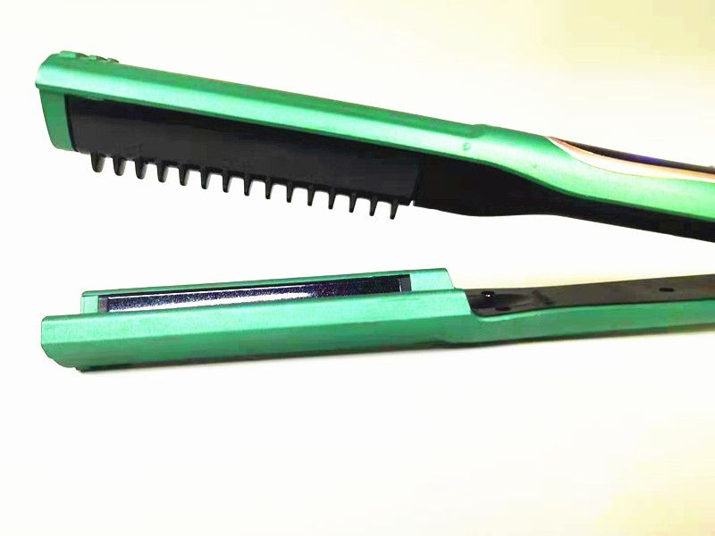 2 in 1 for home used max ceramic flat iron hair straightener manufacturer