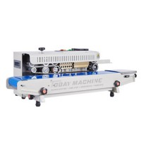 Food stuff Continuous Band Sealer Machine For Sale