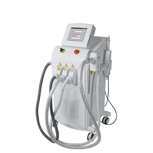 2019 New Arrival Elight IPL Diode Laser ND Yag Laser Beauty Equipment For Skin Rejuvenation Hair Removal Tattoo Removal