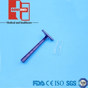 disposable plastic shaving razor/disposable surgical razor