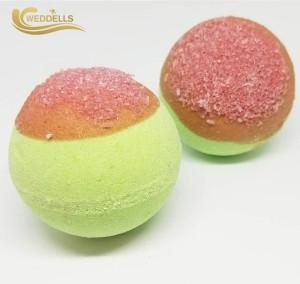 Guangzhou Weddells Handmade Bath Fizzy bubble gum bath bombs Moisturizing glow in the dark gloden egg bath bomb