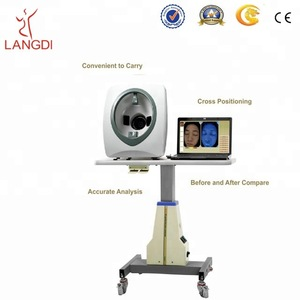 Hot sell magic mirror facial skin analyzer for beauty salon