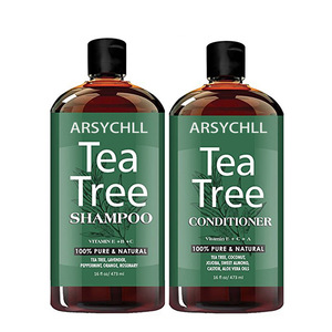 Hot selling OEMODM 100% pure & organic tea tree oil shampoo