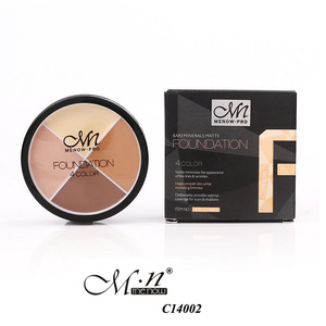 Menow C14002 makeup 4 colors contour cream face camouflage HD palette