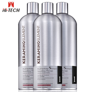Private label wholesale professional Brazilian clarifying deep cleaning complex smoothing bio keratin hair shampoo