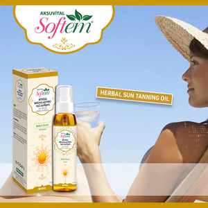 Sun Oil Healthy Tanning Herbal Oil Mix Natural Suntanning