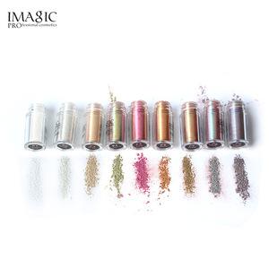 Waterproof eyes pigment powder eye shadow pigment box case eye shadow makeup applicators