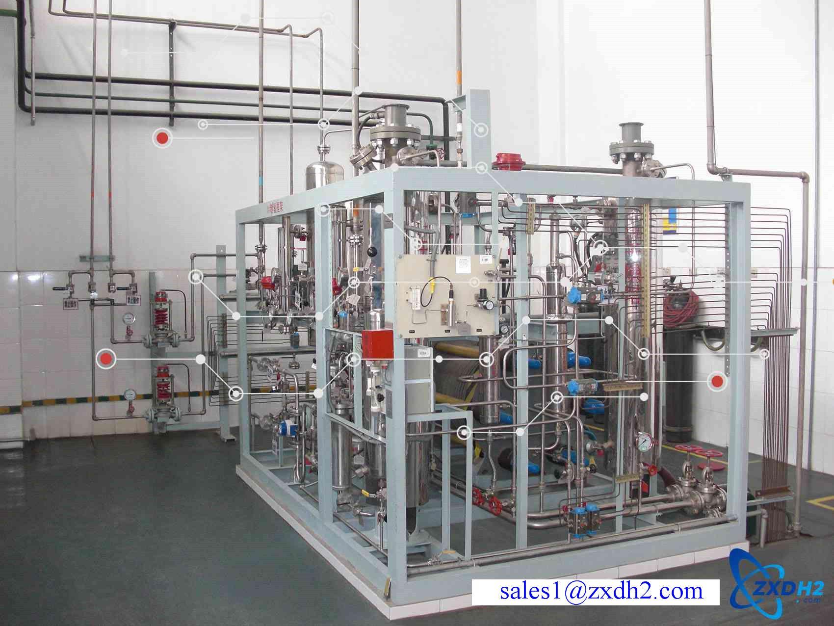 Hydrogen generator of alkaline water electrolyzer