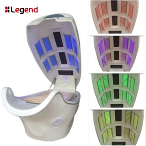8 LED Panels ! LED light therapy beds with dry infrared  spa capsule on promotion S-02
