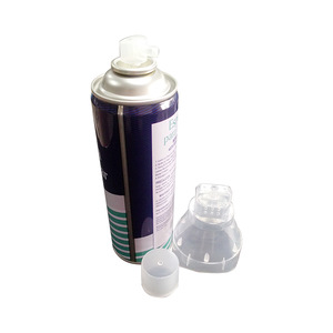 Air oxygen small dimensions 400/200ml spray tin plate/aluminum empty aerosol can