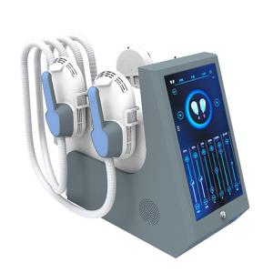 Best Selling 4 Handles HIEMT Machine Non-invasive Burning Fat Muscle Stimulator Body Slimming Machine