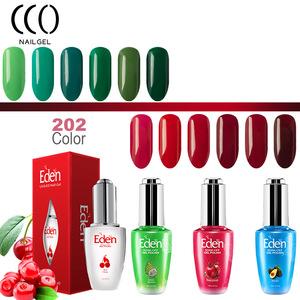 EDEN durable nail gel polish painting like oil color elegant fresh fruity smell nail gel