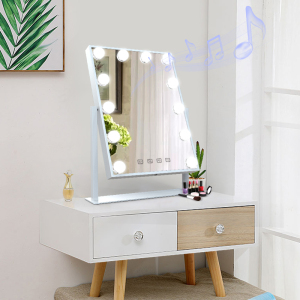 Hollywood Lighted Makeup Vanity mirrors wholesale with blue tooth