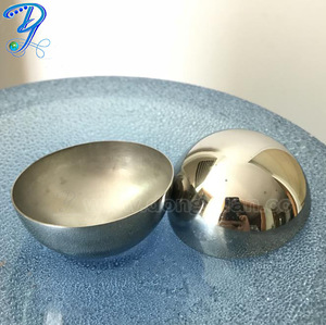 Homemade High Quality Bath Soap Mold Stainless Steel Three Sizes 42mm 51mm 63mm Bath Bomb Mold for DIY Bath Bomb