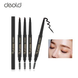 hot selling custom logo eyebrow pen waterproof eyebrow pencil with brush eyebrow kit