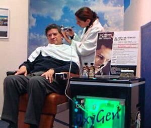 O2Hair oxygen based hair loss treatment other hair salon equipment