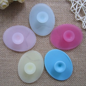 Silicone Baby Shampoo Brush Massage Hair Tool Health Therapy Care