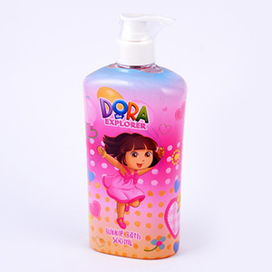 Wholesale fragrance custom moisturizing children 500ml cute design multipurpose oem bubble bath