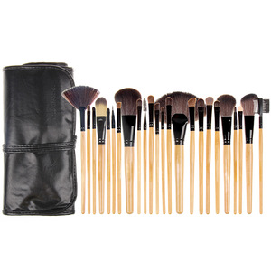 Wholesale Personalised Professional 24 pcs Makeup Brush Cosmetic Set Tool