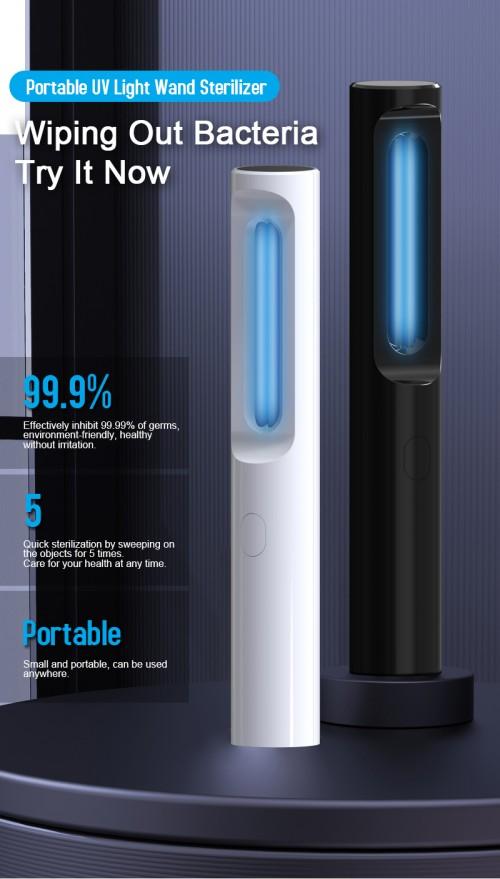 Portable UV Ozone Air Purifier/  Amazon Hot 59s uv sterilizer box light far uv sterileation light sterilization uv disinfection