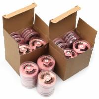 wholesale eyelashes bulk 4/20/50/100pcs natural long 3d mink lashes fluffy soft false eyelashes hand made fake eye lash
