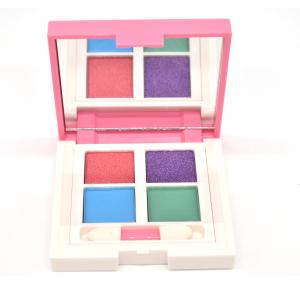 AKIACO High Pigment 4 Colors Pigmented Pressed powder Eyeshadow Palette