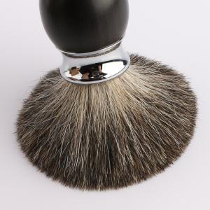 High Quality Black Wooden Handle Shaving Brush Badger Hair Shaving Set