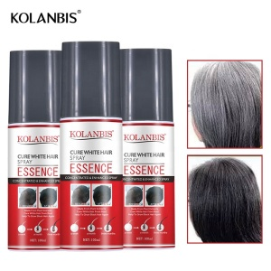KOLANBIS Black Hair Regrowth White Hair Treatment Herbal Hair Tonic Products