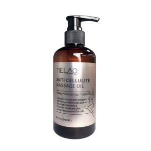 Melao OEM/ODM Skin Care Anti Cellulite Treatment Massage Oil All Natural Ingredients Infused with High Quality Essential Oil
