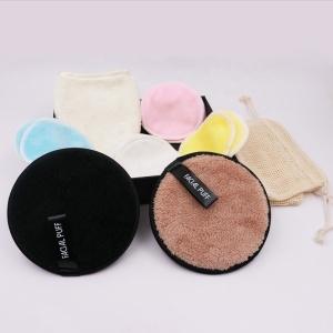 Microfiber Organic Cotton Cleaning Make up/Makeup Remover Pads Gift Box, Reusable Bamboo Makeup Remover Pads