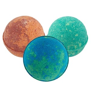 OEM Top Quality Colorful Rich Bubble Moisturizing 100% Natural Custom Home Made Supplies Press Bath Bombs