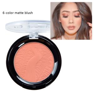 Private Label Blusher Palette Face Makeup 6 Color Single Blush Palette Bestseller Blush Palette Best Quality Makeup Blush
