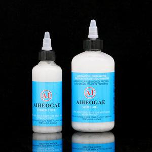 TC445 High Quality Tattoo Thermal Transfer Supply Stencil Oil 8oz/bottle Tattoo Transfer Cream