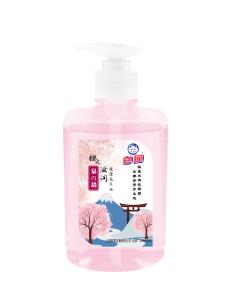Whitecat hand liquid soap spring water sakura 500g hand wash liquid soap