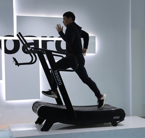 woodway manual curved treadmill sports machine commerical gym equipment with best price 2019 New