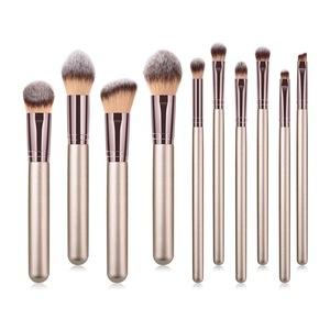 10pcs Makeup Brush Set Premium Cosmetics Tool