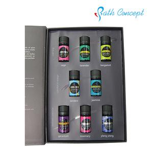 Aromatherapy Diffuser Essential Oil Kit 10ml 8-gift Set