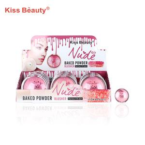 Cheek beauty makeup loose mineral sunscreen blush