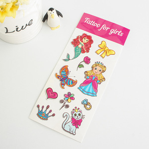 eco friendly competitive temporary tattoo children toy skin stickers tatoo sticker by guangzhou caifeng sticker factory