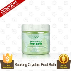 Manufacturer Provided Tea Tree Oil Foot Soak With Epsom Salt