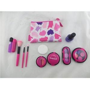 !New design pretend makeup set for girls make up to EVA pretend cosmetic set