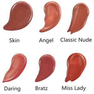 Nude lip gloss Cosmetic lip makeup four seasons beauty girl 113 colors waterproof liquid lipstick natural pigment lip gloss