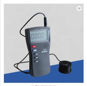 portable digital ultraviolet light meter/UV intensity radiation meter