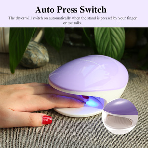 TOUCHBeauty 2 IN 1 Nail Polish Dryer Combination Of UV Illumination And Fan Nail Equipments