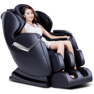 wholesale 3d zero gravity deluxe irest foot full body care shiatsu massage chair with head massage
