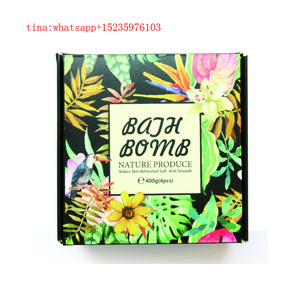 Wholesale Essential Oil Natural Colorful Factory Packaging Organic fizzy bubble bath bombs