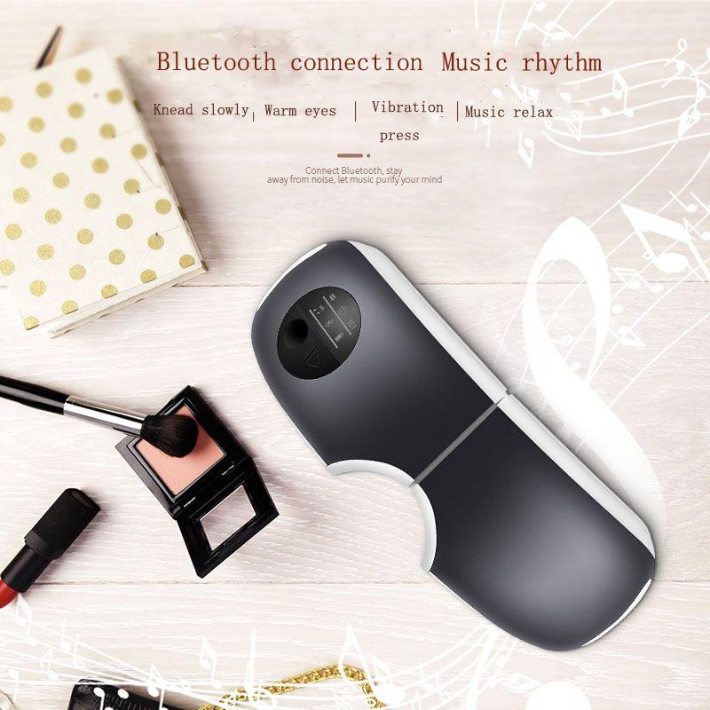 Sain Intelligent Eye Massager Mini Wireless Foldable Vibration Eye Care Massager With Music Eye Mask