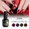 RONIKI Hot Flame Cat Eye Gel Polish,Cat Eye Gel,Cat Eye Gel Polish