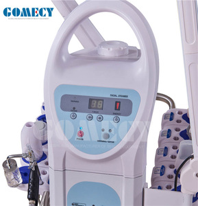 10-in-1 Beauty Machine: Microdermabrasion, Galvanic Current, High Frequency, Massage Brush, Vacuu