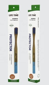 100% Biodegradable Eco-friendly  Wooden Bamboo Toothbrush